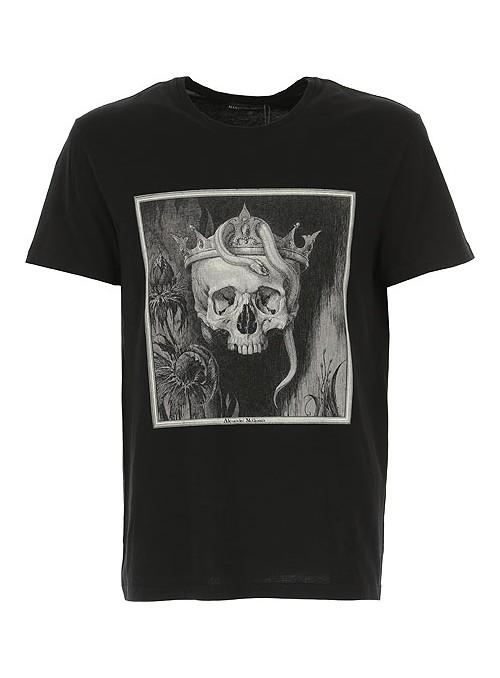 Camiseta Alexander McQueen - Snake Skull