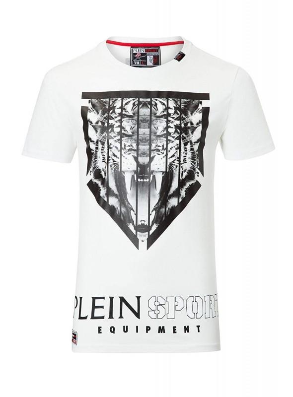 Camiseta Philipp Plein - Tiger White