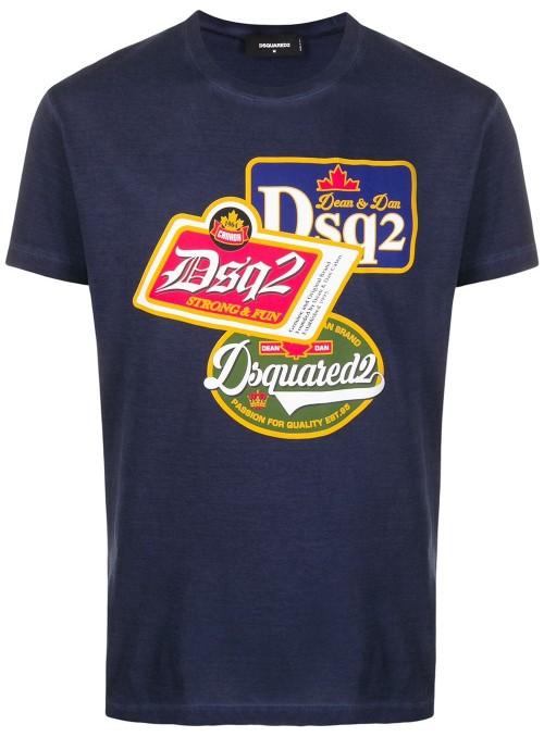 Camiseta DSquared2 - DS2 Logo