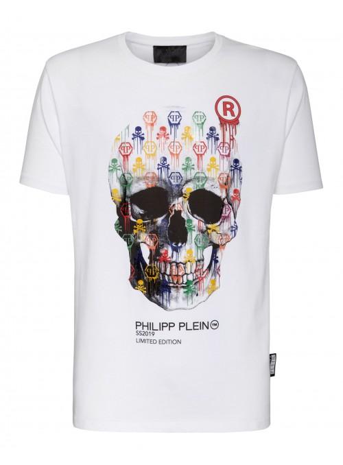 "Camiseta Philipp Plein - Round Neck SS ""SKULL"""
