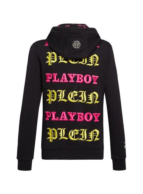 Sudadera Philipp Plein x Playboy - Julie Clark Black