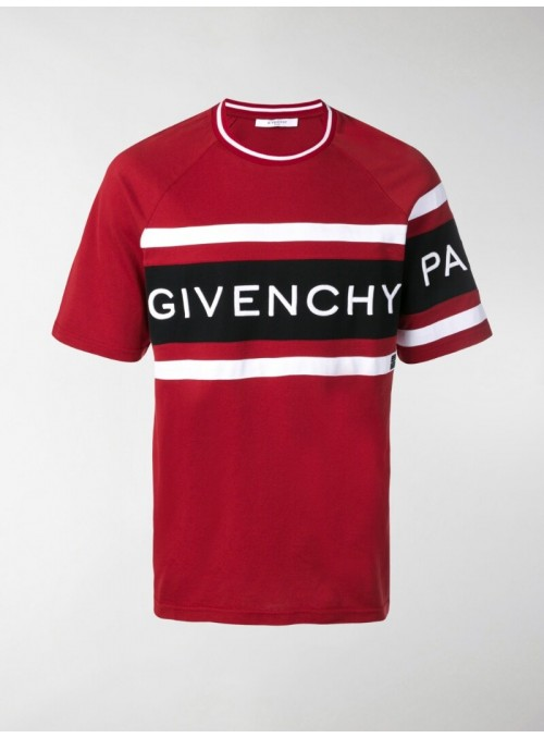 Camiseta manga corta - Givenchy Red