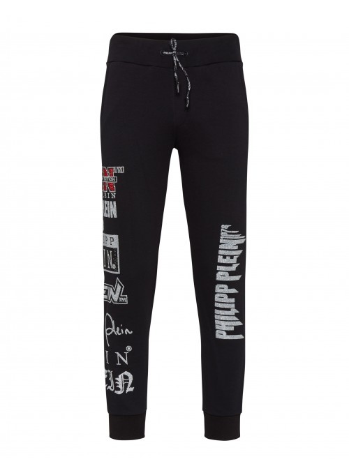 Pantalon chandal largo Philipp Plein - Logos