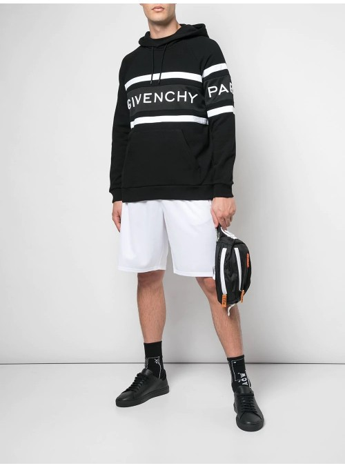 Sudadera con capucha - Givenchy Black/White