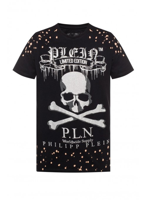 Camiseta manga corta Philipp Plein - Skull Black