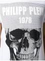 Camiseta manga corta Philipp Plein - SS Skull White