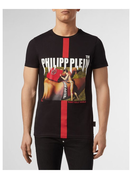Camiseta manga corta Philipp Plein - Toni Kelly neck ss