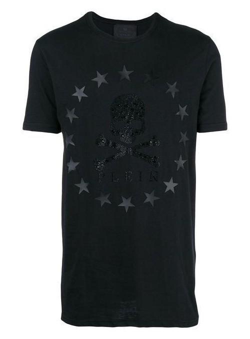 "Camiseta manga corta Philipp Plein - "" MIX "" Black"