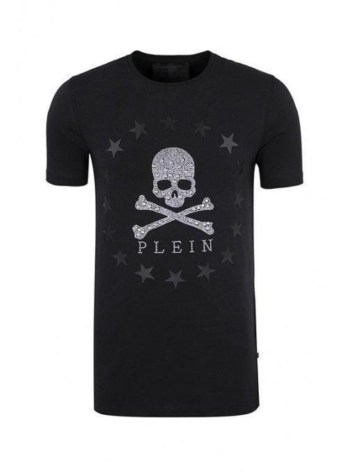 """Camiseta manga corta Philipp Plein - """" MIX """" Silver"""