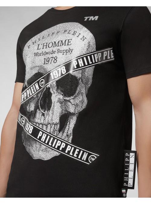 Camiseta manga corta Philipp Plein - Round neck SS TM
