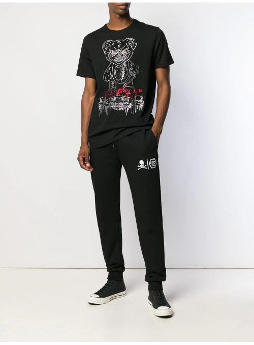 Camiseta manga corta Philipp Plein - Teddy Bear Black