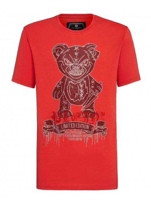 Camiseta manga corta Philipp Plein - Teddy Bear Red