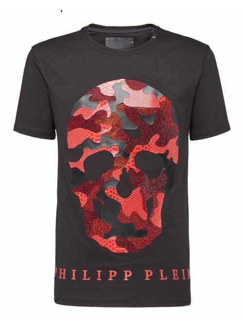 Camiseta manga corta Philipp Plein - Red Skull