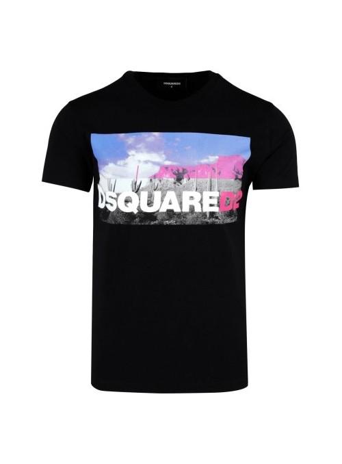 Camiseta Dsquared2 - Western  Black