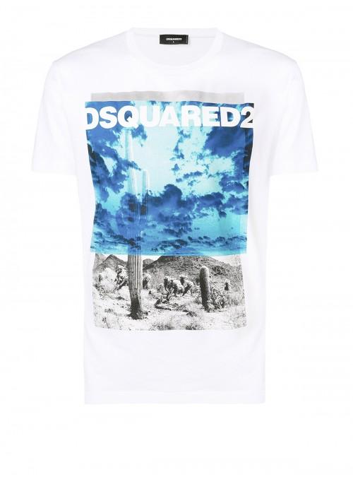 Camiseta DSquared2 - Western White