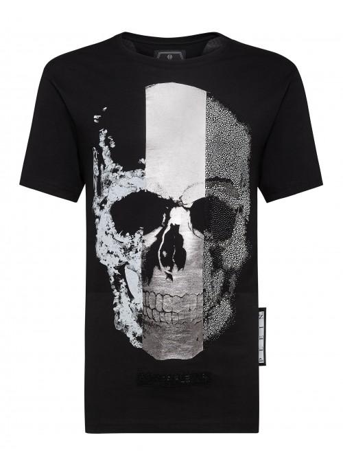 Camiseta Philipp Plein - Platinum Cut Skull