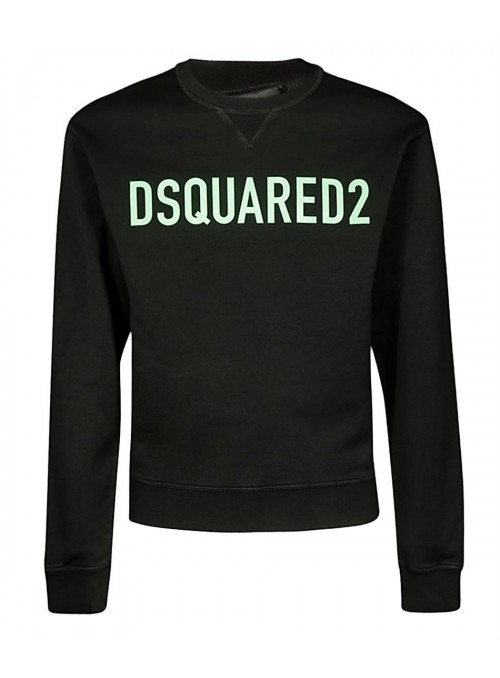 Sudadera DSquared2 - Logo Green