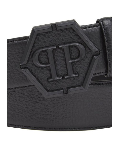 Cinturón Philipp Plein - PP Basic Black