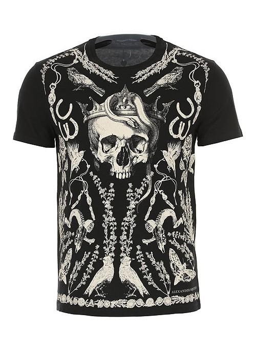 Camiseta Alexander McQueen - King Skull